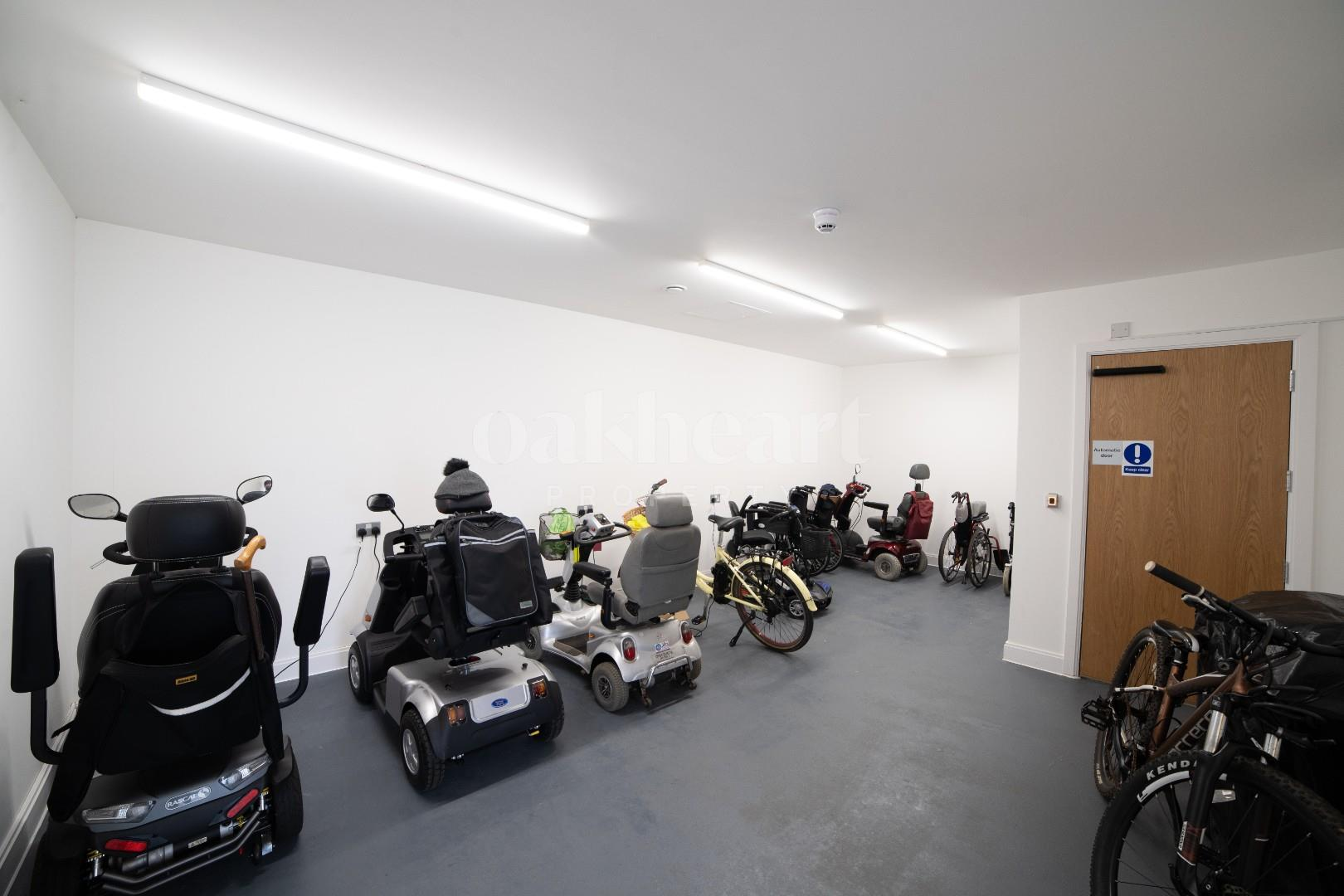 Mobility Scooter/Bike Park